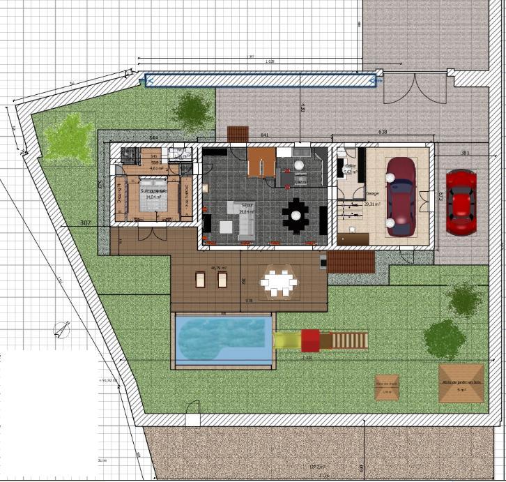 Besoin d 39 avis sur plan de maison de 90 20 m2 en r 1 76 for Maison d orientation