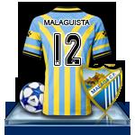 Camiseta Málaga CF para avatar 4-3f73354