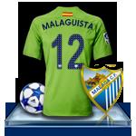 Camiseta Málaga CF para avatar 6-3f77f8e