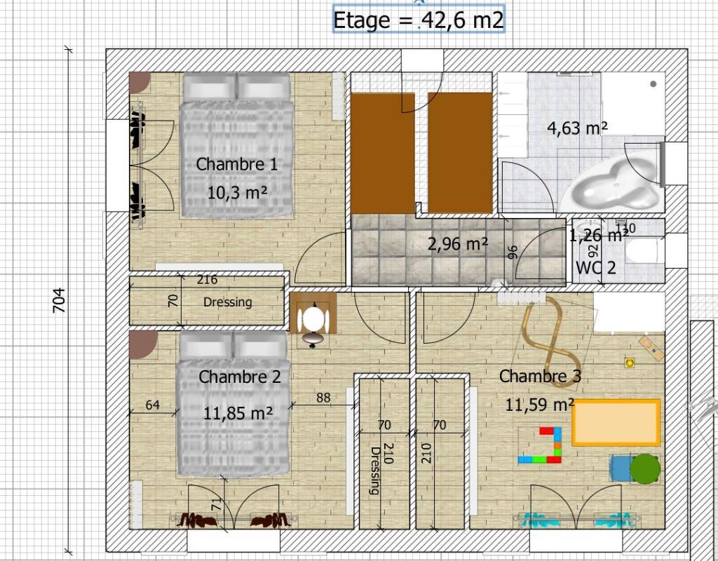 besoin d 39 avis sur plan de maison de 90 20 m2 en r 1 76 messages page 5. Black Bedroom Furniture Sets. Home Design Ideas