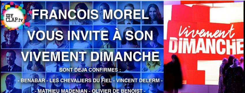Vivement Dimanche, spécial François Morel (Bénabar et Delerm) le 7 mai 2013 Capture-3dc9bf2