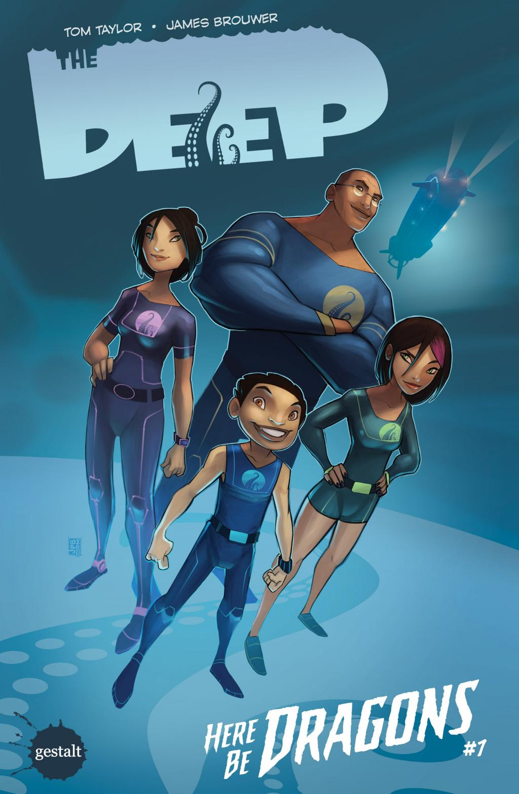 The Deep : Here Be Dragons Intégrale French